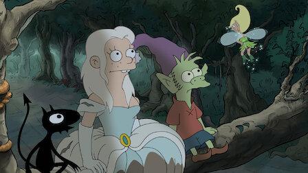 觀賞公主、精靈和惡魔走進酒吧。第 1 季第 1 集。